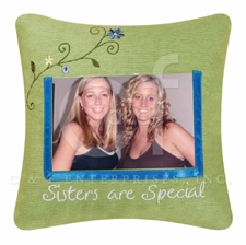 """Pillow - """"Sisters Are Special Pillow"""""""