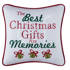 "Pillow - ""The Best Christmas Gifts Are.... Pillow"""