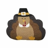 """Placemat - """"Quilted TurkeyPlacemat"""""""