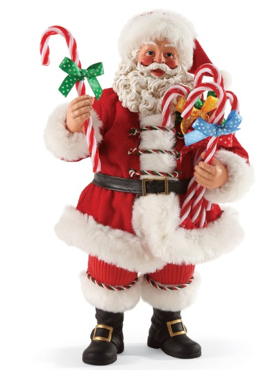 """Possible Dreams Santa - """"Candy Cane Wishes"""""""