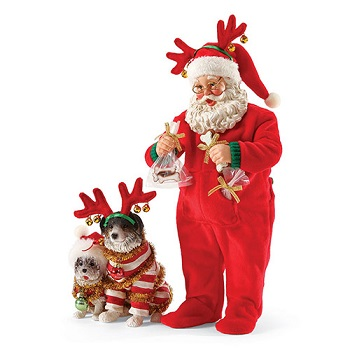 """Possible Dreams Santa - """"Wrapped Up In Holiday Spirit"""""""