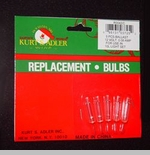"""Replacement Bulbs  - """"Extra Bright Clear Bulbs for 10 Light Strings"""""""