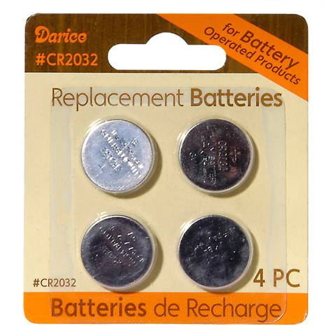 "Replacement Button Cell Batteries - ""CR2032"""