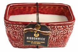 "Ribbonwick Candle - ""Scarlett Berry "" - Rectangle"