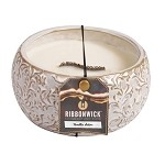 "Ribbonwick Candle - ""Vanilla Satin"""