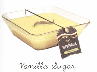 "Ribbonwick Candle  - ""Vanilla Sugar"""
