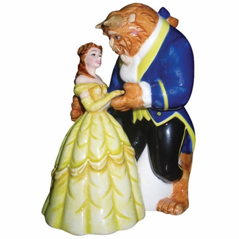 "Salt & Pepper Shakers - ""Beauty And The Beast Magnetic Salt & Pepper Shakers"""