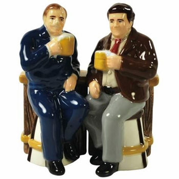 """Salt & Pepper Shakers - """"Cheers Cliff And Norm Magnetic Salt & Pepper Shakers"""""""