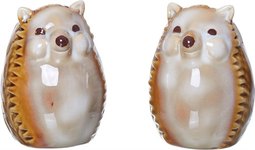 "Salt & Pepper Shakers - ""Hedgehogs"""