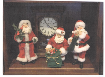 Fabrique Santa Figurines - Choose from 3 Beautiful Styles