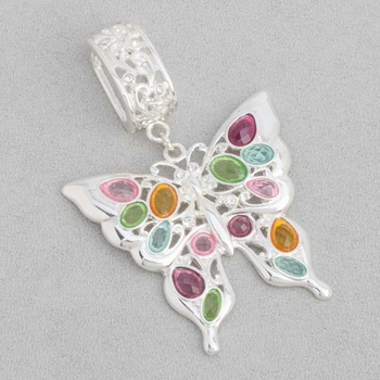 """Scarf Accent - """"Butterfly Slider Pendant"""""""
