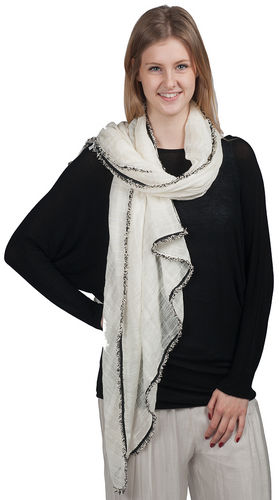 """Scarf - """"Chanel Inspire Scarf - White"""""""