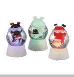 "Shimmer Light - ""Christmas Character In Globe Shimmer Light"""