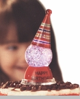 "Shimmer Light  - ""Mini Birthday Hat Shimmer Light"""