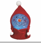 "Shimmer Light - ""Snowman With Ear Muff Shimmer Light"""