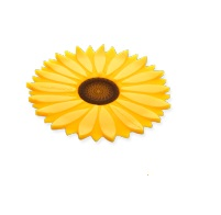 "Silicone Coaster - ""Sunflower Coaster"""