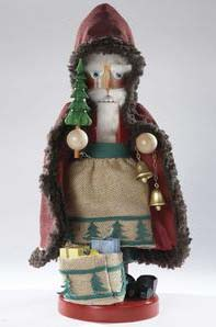 "Steinbach Nutcracker  - ""Belsnickel Gift Giver"" - First in the Gift Giver Series"