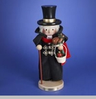 "Steinbach Nutcracker  - ""Christmas Day Scrooge Nutcracker - 11th in the Christmas Carol Series"" - Limited Edition of 4,000 pieces"