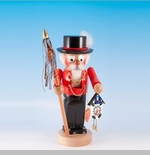 "Steinbach Nutcracker  - ""Chubby Black  Forester Nutcracker"""