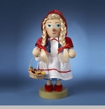 "Steinbach Nutcracker  - ""Chubby Little Red Riding Hood Nutcracker"""