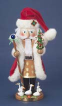 "Steinbach Nutcracker - ""Four Calling Birds/Five Golden Rings  - Third in the Twelve Days of Christmas Series""  - Limited Edition 7,500 pieces"