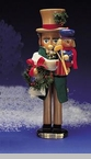 "Steinbach Nutcracker  - ""Mr. Cratchit  & Tiny Tim Nutcracker - 2nd in the Christmas Carol Series""  - Limited Edition of 7,500 pieces"
