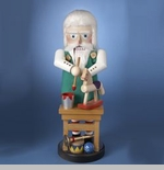 "Steinbach Nutcracker  - ""North Pole Santa Toymaker"" - 1st in the North Pole Series"