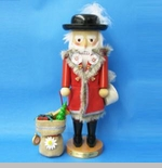 "Steinbach Nutcracker  - ""Swiss Santa Nutcracker"" - 15th in the Christmas Legends Series"