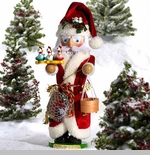 "Steinbach Nutcracker -  ""Three French Hens -  Second in the Twelve Days of Christmas Series"" - Musical - Limited Edition 7,500 pieces"