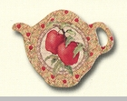 "Tea Bag Holder - ""Apples"""