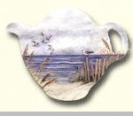 "Tea Bag Holder - ""By The Sea"""