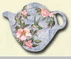 "Tea Bag Holder - ""Camellia"""