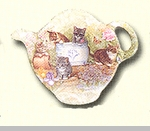 "Tea Bag Holder - ""Rudys Cats"""
