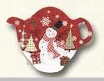 "Tea Bag Holder - ""Winter Wonderland"""