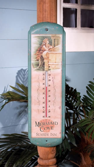"""Thermometer - """"Vintage Mermaid Thermometer"""""""