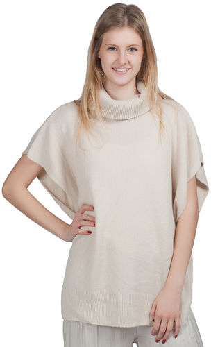 """Top - """"Cowl Neck Top - Ivory"""""""