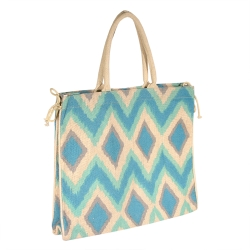 """Tote - """"Cailyn Tote"""" - Turquoise"""
