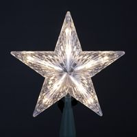 "Tree Topper - ""Electric Star Tree Topper"" - 10 lights"