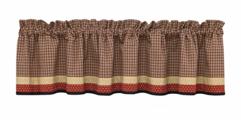 "Valance - ""Home Place Valance"" - 72"" x 14"""