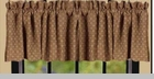 "Valance  - ""Kingston Jacquard Valance""  -  72"" x 15.5"""