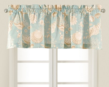 "Valance - ""Natural Shells Valance"""