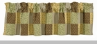"Valance  - ""Peaceful Cottage Valance"" -  60"" x 14"""