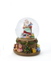 "Waterglobe - ""Battery Operated Santa Waterglobe"""