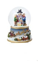 "Waterglobe - ""Battery Operated Snowman Waterglobe"""