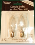Window Candle, Candelabra, and Standard Light Bulbs