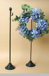 "Wreath Stand - ""Black Wreath Stand""- 31.5"" -  Temporarily out of stock!"