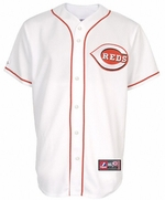 Billy Hamilton #6 Reds Adult Home White Jersey