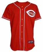 Cincinnati Reds Toddler Alternate Red Replica Jersey