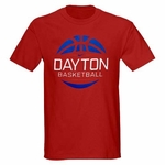 Dayton Flyers Nike Red Basketball T-Shirt