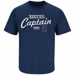 Derek Jeter New York Yankees Navy Thanks Captain T-Shirt